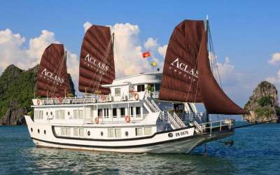 Halong: AClass Legend Cruise 3 stars  (2 days/1night)