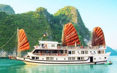 Halong : AClass Legend Cruise 3 stars  (3 days/2nights)