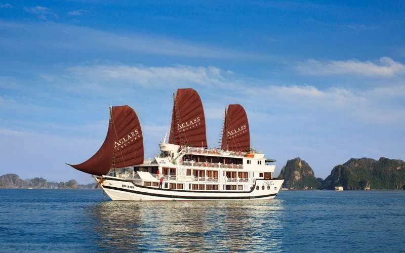 Halong: AClass Stellar Cruise 4 stars  (3days/2nights)